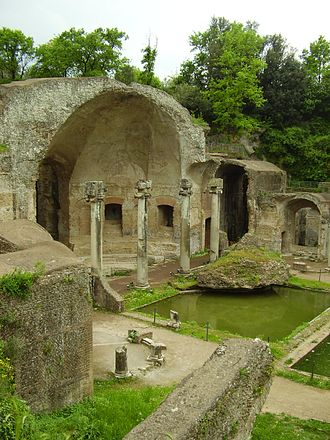 Hadrian's Villa - The ruins of Hadrian's Villa in their present state