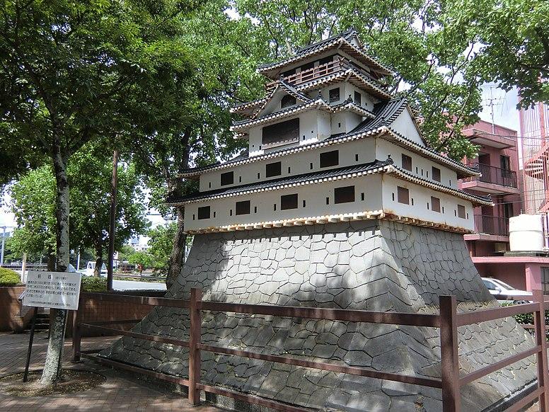 Hagi Castle one-sixth restoration models
