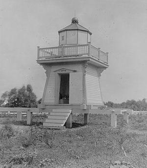 Daufuskie Island - Haig Point Front Range Light Daufuskie Island