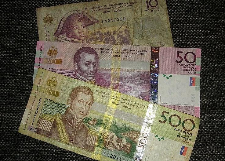 Haitańskie banknoty.jpg