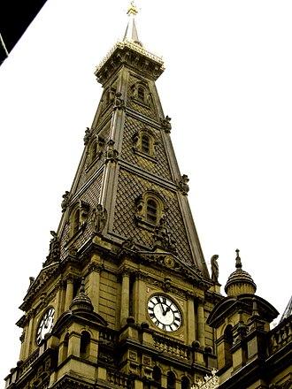 Halifax Town Hall - Spire