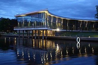 Halmstad - Image: Halmstads Stadsbibliotek
