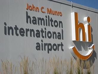 John C. Munro Hamilton International Airport - Image: Hamilton International