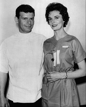 Harry Landers - Landers with Bettye Ackerman in Ben Casey (1961)