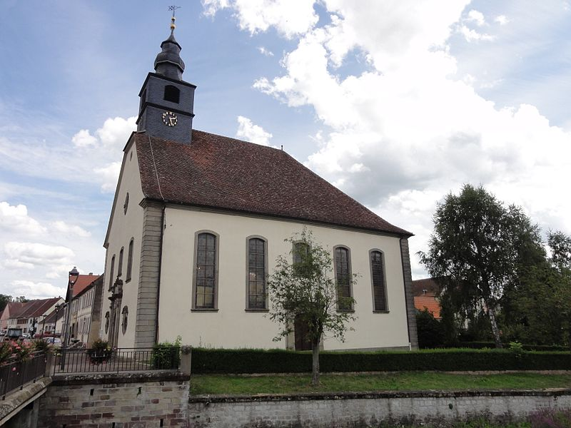 Alsace, Bas-Rhin, Église protestante de Harskirchen (PA00084744, IA67005797).