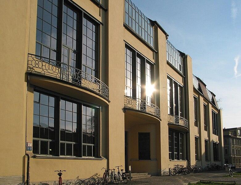 Ansicht Bauhaus-Universität Weimar