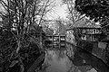 Hausdülmen, Große Teichsmühle -- 2012 -- 2931 (bw).jpg