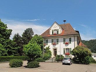 Hausen im Wiesental - Image: Hausen im Wiesental, het gemeentehuis foto 9 2013 07 26 13.26