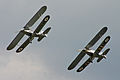 Hawker Demon and Hind formation - 2011 Flying Legends (7252149410).jpg