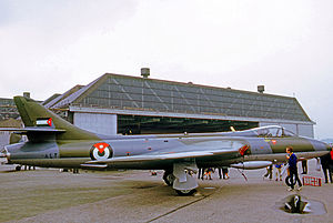 Royal Jordanian Air Force - Hunter F.73 of the Royal Jordanian Air Force in 1971