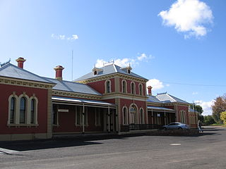 Hay railway station