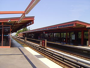 Hayward station (BART) - Image: Hayward bart