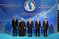 Heads of State of Caspian littoral states made press statements at Aktau Summit 5.jpg
