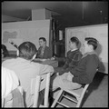 Heart Mountain Relocation Center, Heart Mountain, Wyoming. At a meeting of the Center Planning Comm . . . - NARA - 539265.tif