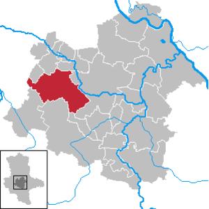 Hecklingen - Image: Hecklingen in SLK