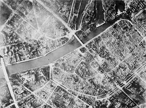 Bombings of Heilbronn in World War II - The old part of the city after the December 1944 attacks