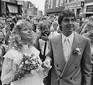 Hein Vergeer - Hein Vergeer is getting married to Carolien Kruisinga on 4 July 1986
