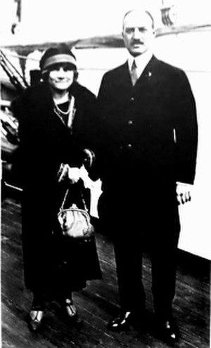 Ogden Mills Reid - Helen and Ogden Reid, 1920