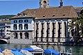 Helmhaus-Wasserkirche - Limmat - Stadthausquai 2014-05-23 13-47-15.JPG