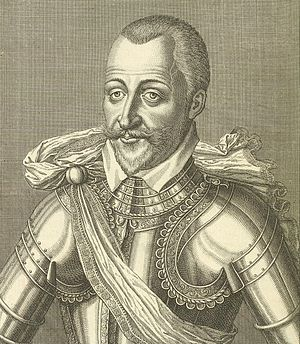 Henri I de Montmorency - Engraved portrait of Henri I de Montmorency