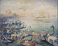 Henri Edmond Cross - Regatta in Venice - Google Art Project.jpg