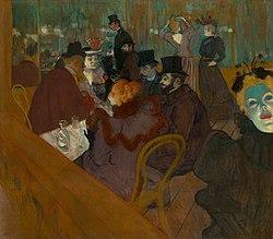 ანრი დე ტულუზ-ლოტრეკი: At the Moulin Rouge