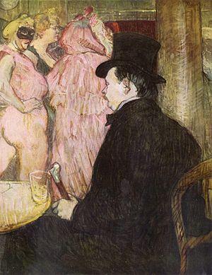 Maxime Dethomas - Maxime Dethomas (1896) by Henri de Toulouse-Lautrec