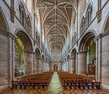 Hereford Cathedral Nave West, Herefordshire, UK - Diliff.jpg