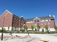 Photograph of Building 25 in Heritage Halls.