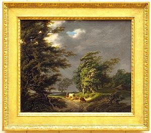 Hermanus van Brussel - Landscape in stormy weather, 1794, Teylers Museum