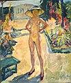 Herrenchiemsee Kloster - Gemäldegalerie 2 Im Garten.jpg