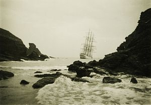 Herzogin Cecilie - Wreck of the Herzogin Cecilie in south Devon
