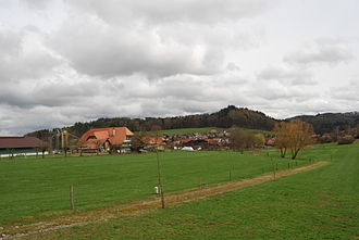 Krauchthal - Hettiswil village, part of the municipality of Krauchthal
