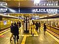 Hibiya line - Ginza stn - platforms - Jan 29 2018.jpg