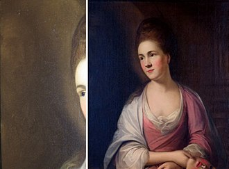 Thomas Hickey (painter) - Image: Hickey, Thomas Lady with a Mask, 18th Cent