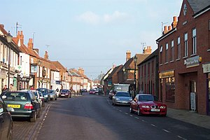 Theale - Image: High Street, Theale, Berkshire