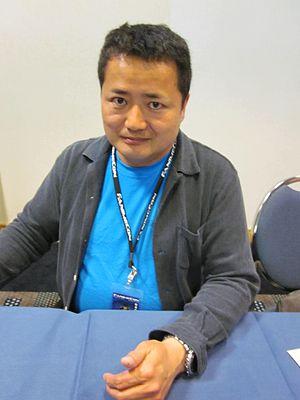 Hiroyuki Yamaga - Yamaga at FanimeCon 2010.