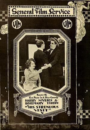 Vim Comedy Company - His Strenuous Visit (1916)
