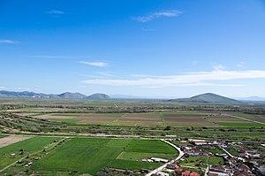 Histiaeotis - The plain of Kambos, ancient Histiaeotis. View from Klokotos, site of ancient Pharkadon.