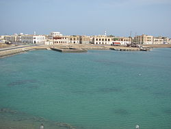 Massawa's historic beachfront.