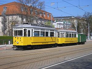 Historic Thuringian Forest Railway in Gotha