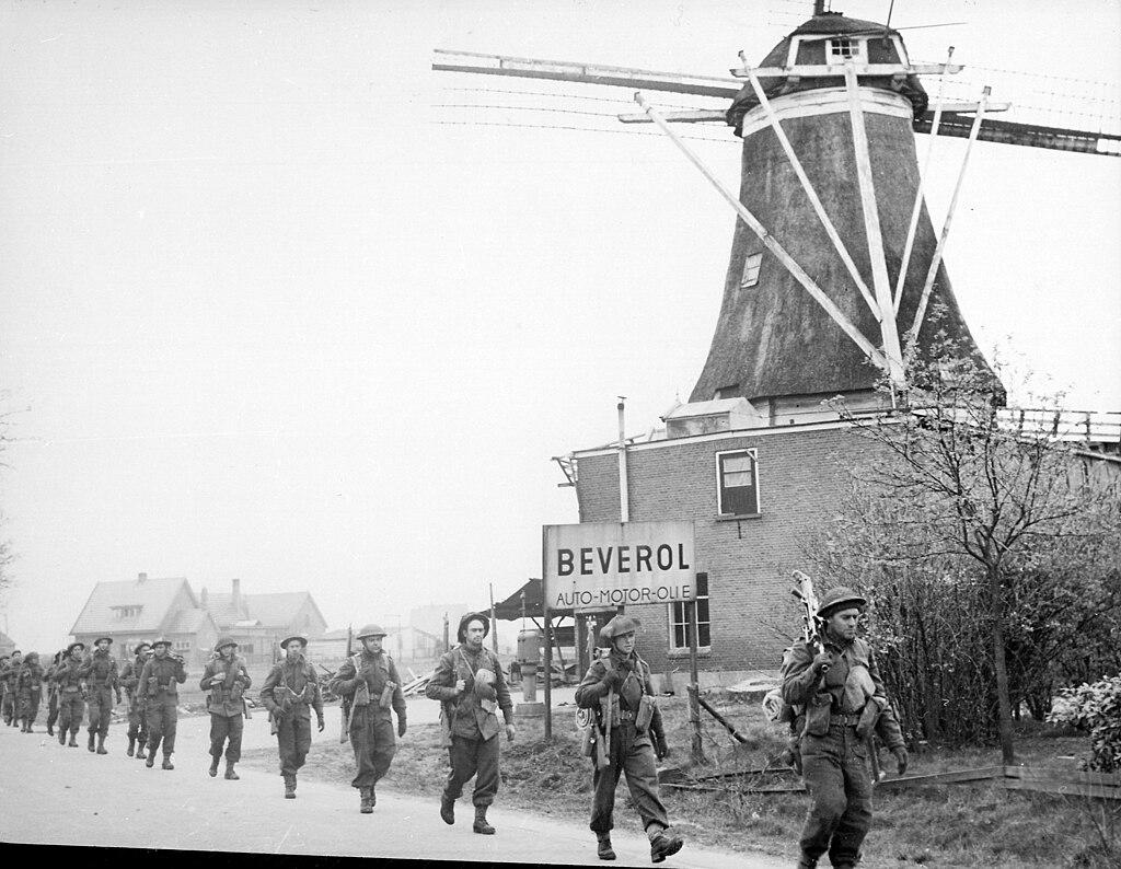 Canadian Troops April 1945