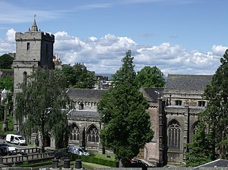 Church of the Holy Rude - A view from the roof of Stirling Old Town Jail