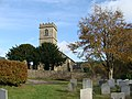 "Holy Trinity Church and churchyard (""Forest Church"") Drybrook - geograph.org.uk - 1571639.jpg"