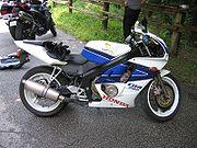 Honda CBR 250 RR dans