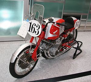 Honda cbx wikivisually honda rc series honda rc160 display at the 2009 tokyo motor show fandeluxe Images