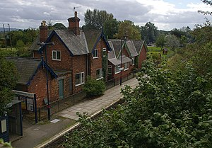 Hopton Heath - Image: Hopton Heath railway station MMB 01