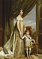 Horthense et son fils le prince de Hollande (Napoléon-Charles).jpg