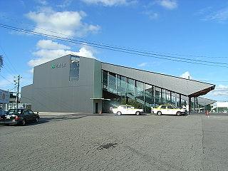 Hōshakuji Station Railway station in Takanezawa, Tochigi Prefecture, Japan