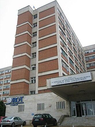 Healthcare in Romania - Mureș County Hospital
